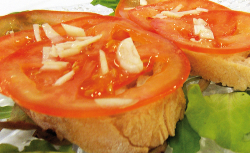 BRUSCHETTA ALL'AGLIO