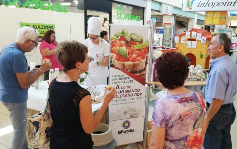 SUCCESSO A MANTOVA PER L'ALFABETO DELLA  BONTA' E DELLA SALUTE – A COME AGLIO BIANCO POLESANO DOP