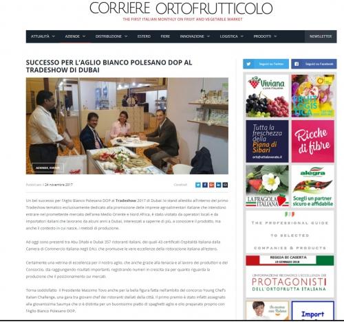 Corriere Ortofrutticolo